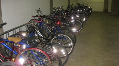 Free Bike Storage - Take Advantage