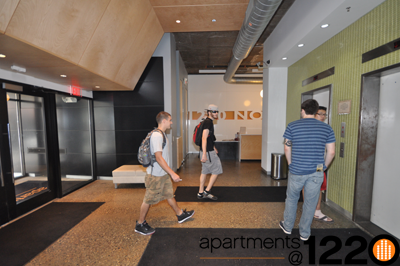 Temple University Apartment with Lobby Attendent
