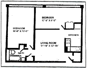 2 Bedroom Jr